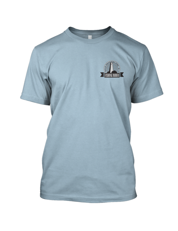 Baby Blue T Shirt Front